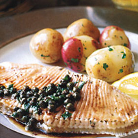 Food & Wine: Skate with Capers and Brown Butter