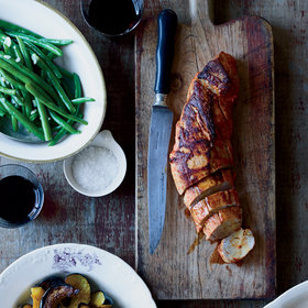 Food & Wine: Skillet Pork Tenderloin with Mustard and Smoked Paprika