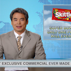 Food & Wine: Skittles' Super Bowl Ad Will Be Seen by Only One Person