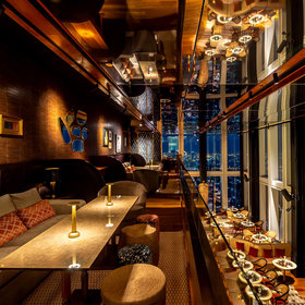 Food & Wine: This Gorgeous Bar Just Opened at the Top of Thailand's Tallest Skyscraper