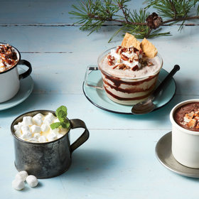 Food & Wine: 6 Delicious Ways to Spike Your Hot Chocolate