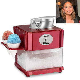 mkgalleryamp; Wine: Chrissy Teigen Swears This Snow Cone Maker Is a 'Summer Must-Have'—and You Can Buy It on Amazon
