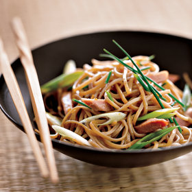 Food & Wine: Soba Noodle Salad with Smoked Duck