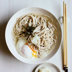 Food & Wine: Soba Noodles with Poached Egg