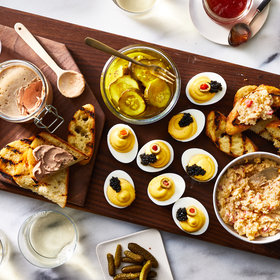 Food & Wine: Southern Sampler with Chicken Liver Mousse