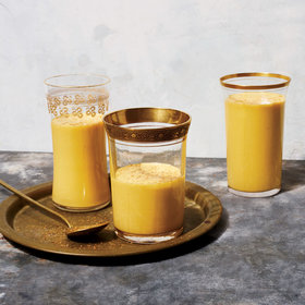 mkgalleryamp; Wine: Spiced Pumpkin Lassi
