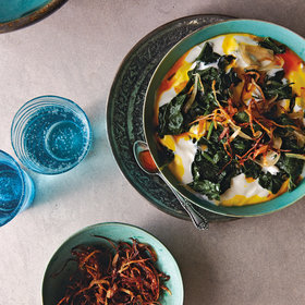 Food & Wine: Spinach Borani