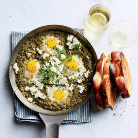 Food & Wine: Spinach Shakshuka