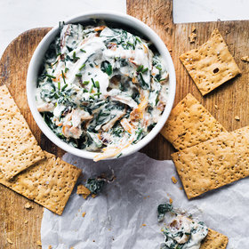 Food & Wine: Spinach and Caramelized Onion Dip