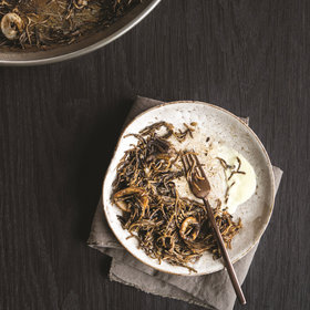 Food & Wine: Squid Ink Pasta with Catalan Aioli