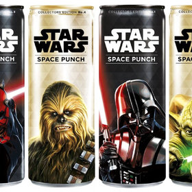 Food & Wine: Star Wars Punch Is Coming in Limited Edition Character Cans
