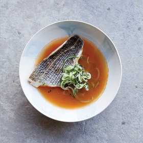 Food & Wine: Steamed Fish with Spicy Broth and Cucumber