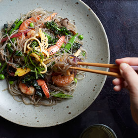 Food & Wine: Stir-Fried Sweet Potato Noodles (Jap Chae)