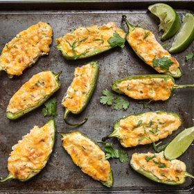 Food & Wine: Stuffed Jalapeños