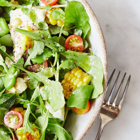 Food & Wine: Summer Vegetable and Burrata Salad
