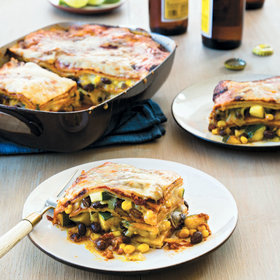 mkgalleryamp; Wine: Late-Summer Vegetable Enchilada Pie