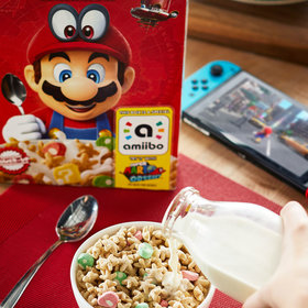 Food & Wine: Super Mario Cereal Is Finally Here to Take Your Breakfast to the Next Level