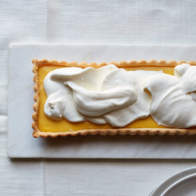 Food & Wine: Tangerine Curd Tart