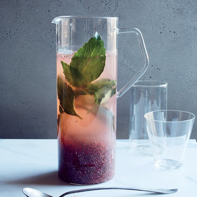 Food & Wine: Thai Basil, Grapefruit and Chia Tonic