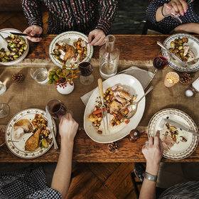Food & Wine: How to Plan Thanksgiving Dinner for a Smaller Group