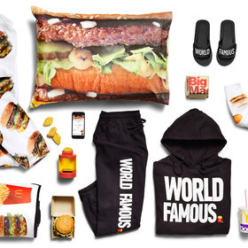 Food & Wine: McDonald's Delivers Fashion Line to UberEATS Customers