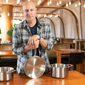 Food & Wine: Tom Colicchio Partners With New Affordable Cookware Brand—See His Must-Have Piece