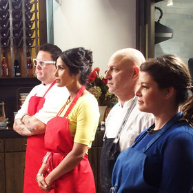 Food & Wine: The 'Top Chef' Judges on Competing In Their Own Quickfire Challenge for the First Time Ever