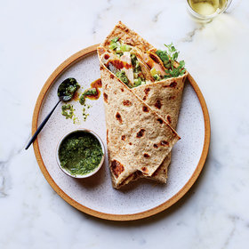 Food & Wine: Turkey Shwarma 
