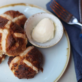 Food & Wine: Get 'Em While They're Hot: Two Hands in NYC Has Hot Cross Buns for Easter