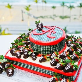 Food & Wine: Over-the-Top Groom's Cakes For True SEC Fans