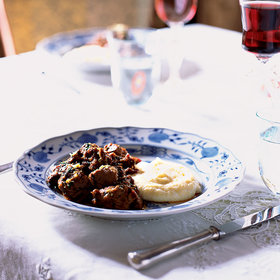 mkgalleryamp; Wine: Veal Stew with Rosemary and Lemon