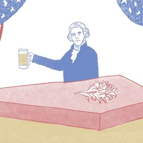 Food & Wine: An Animated Argument for Why US Presidents Should Drink Beer
