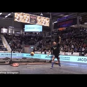 Food & Wine: Watch The Mountain from 'Game of Thrones' World Record Beer Keg Toss