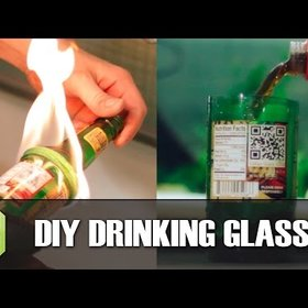 Food & Wine: Turn Beer Bottles Into Drinking Glasses With A Flame and Some String