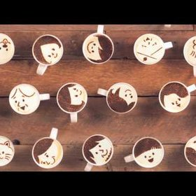 Food & Wine: Watch the World's First Latte Art Animation