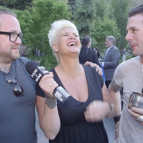 Food & Wine: Anne Burrell Plays Cook, Hire, Serve with Chef Friends