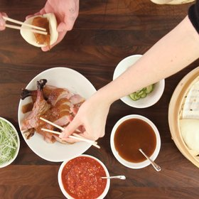 Food & Wine: Video: How to Make Crispy Peking Duck