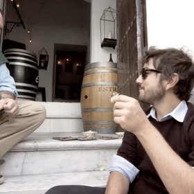 Food & Wine: Diego Luna Eats His Way Around Spain in 30 Seconds
