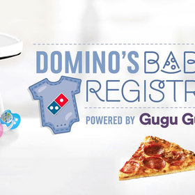 Food & Wine: Domino's Has a Baby Registry Featuring Clothes, Mugs, and Pizza Packages