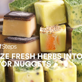 Food & Wine: How to Freeze Fresh Herbs Into Flavor Nuggets
