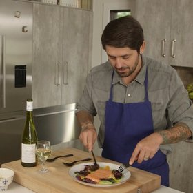 Food & Wine: Ludo Lefebvre's Ultimate Seared Salmon with Citrus Sauce