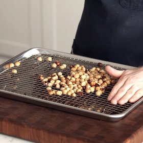 Food & Wine:  How to Skin Hazelnuts