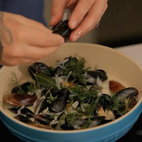 Food & Wine: Ludo Lefebvre's Ultimate Moules à la Crème