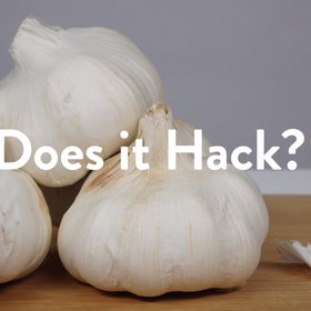 Food & Wine: Does it Hack? - Peeling Garlic