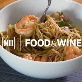 Food & Wine: Bacon-Wrapped Shrimp Pasta Salad
