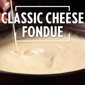 Food & Wine: Classic Cheese Fondue