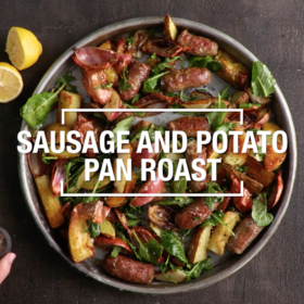 Food & Wine: Sausage and Potato Pan Roast