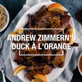 Food & Wine: Duck a la Orange