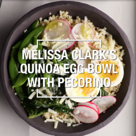 Food & Wine: Quinoa Egg Bowl with Pecorino