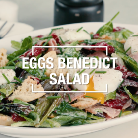 Food & Wine: Eggs Benedict Salad